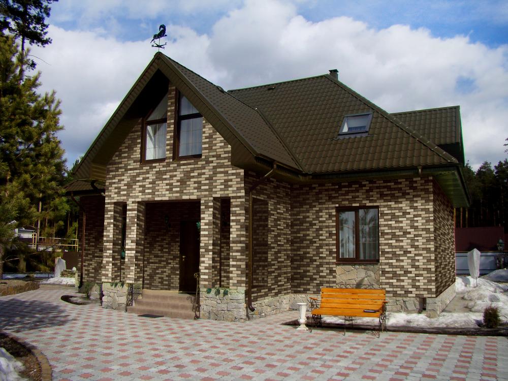баварская кладка серая фото домов является очень